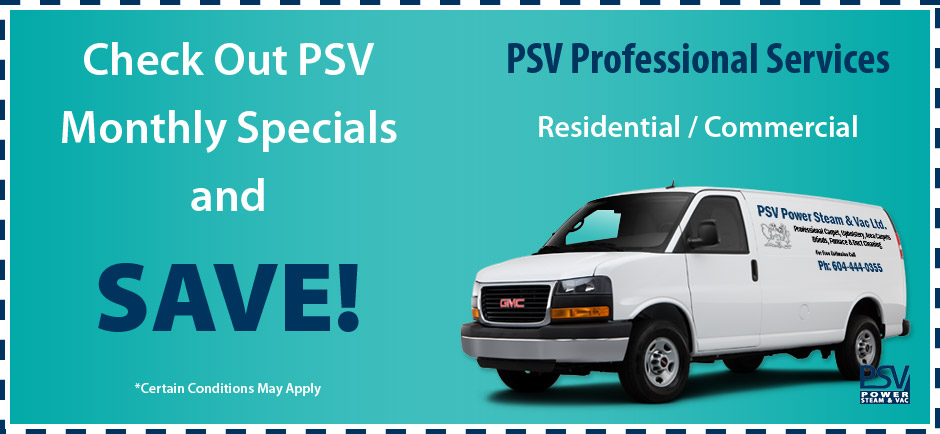 PSV Specials & Savings
